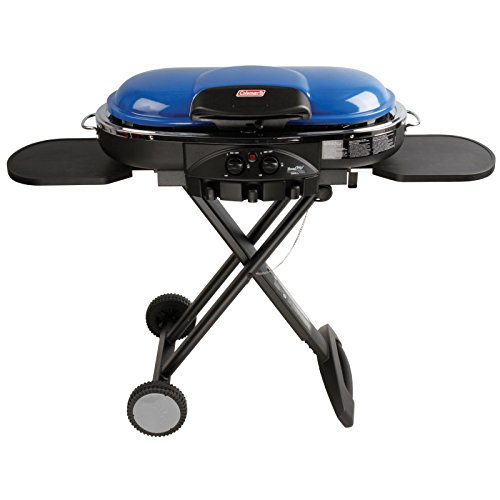 Coleman Road Trip Propane Portable Grill LXE, Blue (Coleman Picnic Table compare prices)