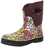 Bogs Women's Classic Mid Vintage Waterproof Boot - Burgundy Multi