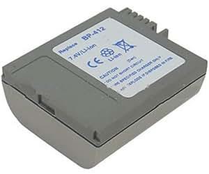 Unipower C412 Batterie pour Caméscope 1250 mAh 7,4 V