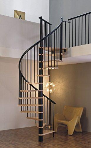 spindeltreppe raumspartreppe. Black Bedroom Furniture Sets. Home Design Ideas