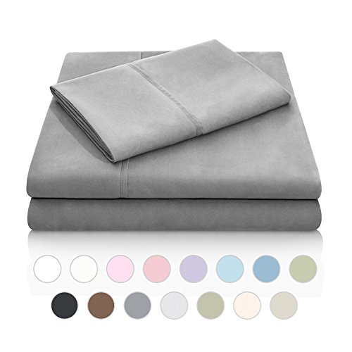 Buy Discount MALOUF Double Brushed Microfiber Super Soft Luxury Bed Sheet Set - Wrinkle Resistant - ...