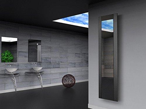 Badheizkrper-Design-Singapur-3-HxB-180-x-47-cm-1118-Watt-dunkelgrau-metallic-Spiegel-Marke-Szagato-Made-in-Germany-Top-verarbeiteter-Bad-und-Wohnraum-Heizkrper-Mittelanschluss-Spiegelglas-Echtglas
