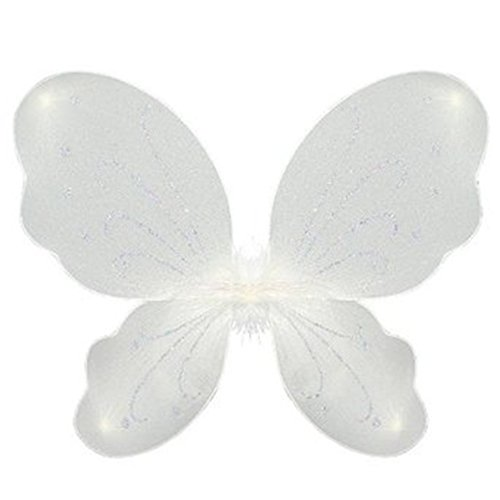 Butterfly - Fairy Wings - White