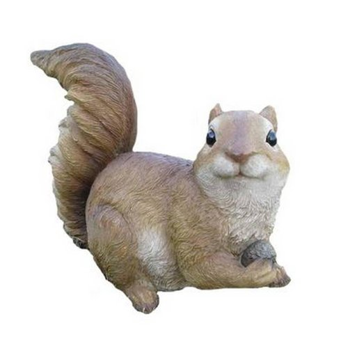 Foraging Cute Squirrel Animal Garden Ornament Decoration