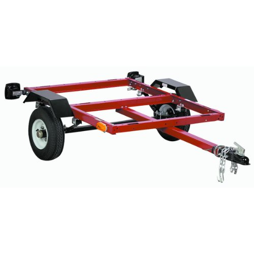 Haul-Master 42708 870 Lb. Capacity Utility Trailer, 40 x 49. New (Motorcycle Trailer compare prices)