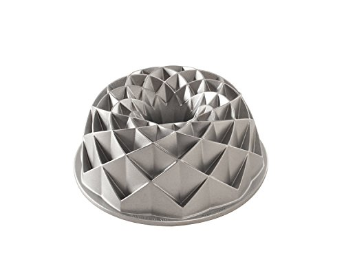 Nordic Ware Jubilee Bundt Pan, Metallic (Diamond Cake Pan compare prices)