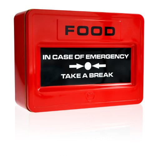Mustard Take A Break Emergency Food Tin