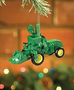 John Deere Model 45 Combine Harvester Tractor Christmas Ornament #615854