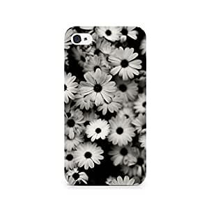 TAZindia Printed Hard Back Case Cover For Apple Iphone 4 4s