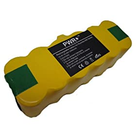 PWR+ Battery iRobot Roomba 500 510 530 532 535 540 550 560 562 570 580 R3 80501 Replacement