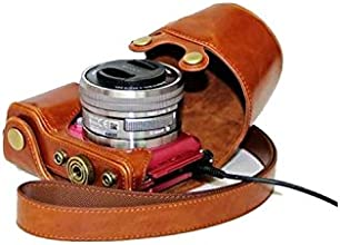 Retro Detachable Protective PU Leather Direct Charge Version camera Bag for Sony NEX-3N with Sony A5