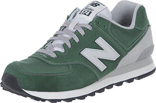 New Balance NBML574VFO Sneaker, Unisex, Verde (Green), 42.5
