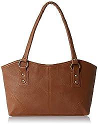 AlessiaWomen's Handbag (Tan) (PBG287J)