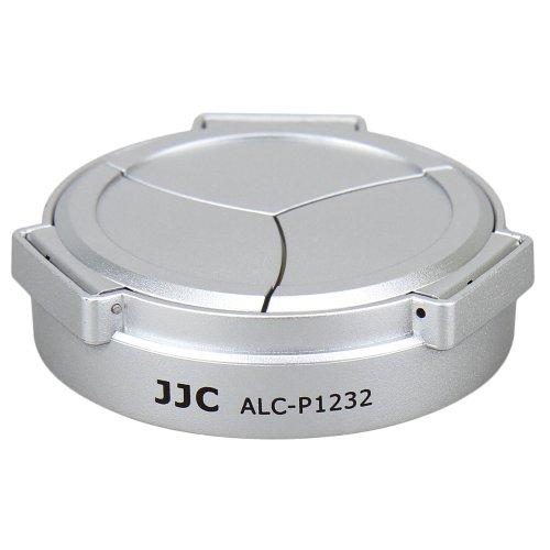JJC LUMIX G VARIO 12-32mm/3.5-5.6専用オートレンズキャップ ALC-P1232 シルバー