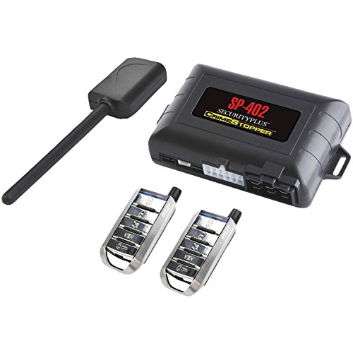 Crimestopper SP-402 Car Alarm with Remote Start, Keyless Entry and Engine Disable (Remote Starter Alarm compare prices)