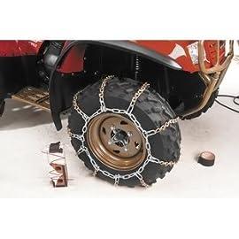 2005-2006 John Deere 650 Trailbuck EX ATV V-Bar Tire Snow Chains [Rear]