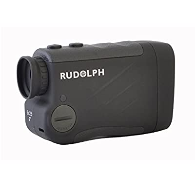 Rudolph Optics 5-700 yard Rangefinder, 6 x 25mm, Black from Sportsman Supply Inc.