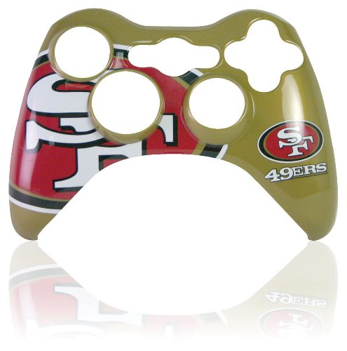 Xbox 360 Official NFL San Francisco 49ers Controller Faceplate