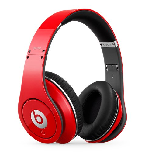 Beats Studio Over-Ear Headphone (Red) [Old Version]