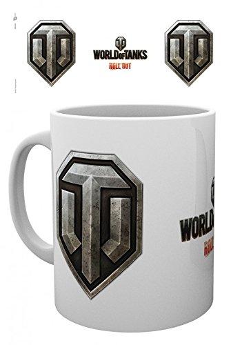 World Of Tanks - Logo Tazza Da Caffè Mug (9 x 8cm)