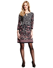 M&S Collection Floral Tunic Dress
