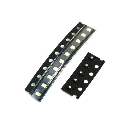 10 Pcs Diy Pcb Board Green Light Smd Smt Led Emitting Diodes