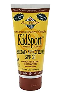 All Terrain Kid Sport SPF30 Oxybenzone-Free Natural Sunscreen Lotion, 1-Ounce