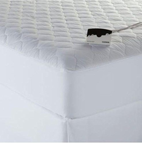 Cannon Heated Quilted Deluxe Mattress Pad - Queen Size - With Dual Control