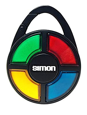 Simon Electronic Carabiner Hand-Held Memory Game by Basic Fun Inc