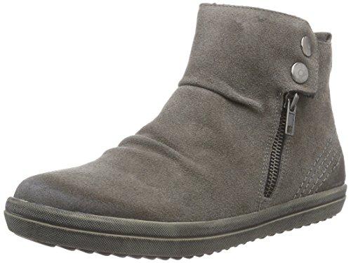 Remonte Dorndorf R6681, Sneaker alta donna, Grigio (Grau (asche / 42)), 43