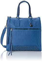 Ash Jagger Tote Shoulder Bag, Azure Blue, One Size