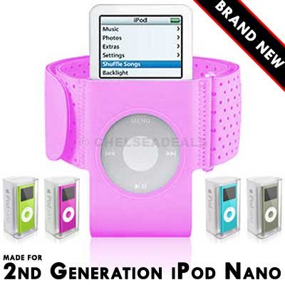 FreeLogix - iPod Nano 2nd Generation Armband - Pink