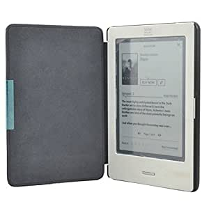 Elite Sleek PU Leather flip case cover for Kobo Touch eReader with magnetic closure