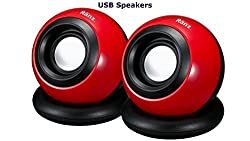RANZ USB Powered Speakers for Laptop and Desktop (008)