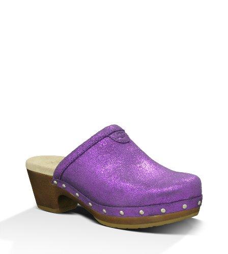 UGG Australia Children's Evie Clogs,Passion Purple,US 11 Child US