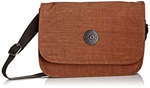 Kipling Louiza,  Sacs bandoulière mode femme  - Marron (Dazz Brown)
