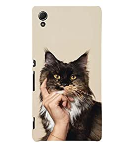 EPICCASE cat case Mobile Back Case Cover For Sony Xperia Z4 Mini / Z4 Compact (Designer Case)