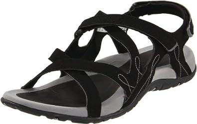 Hi-Tec Women's Waimea Falls Outdoor Sandal,Black/Dark Grey,5 M US
