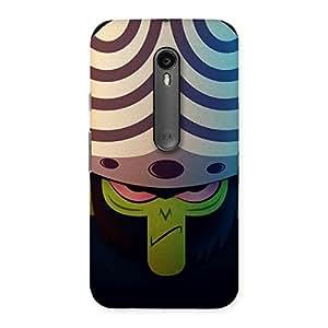 Delighted Joj Multicolor Back Case Cover for Moto G3
