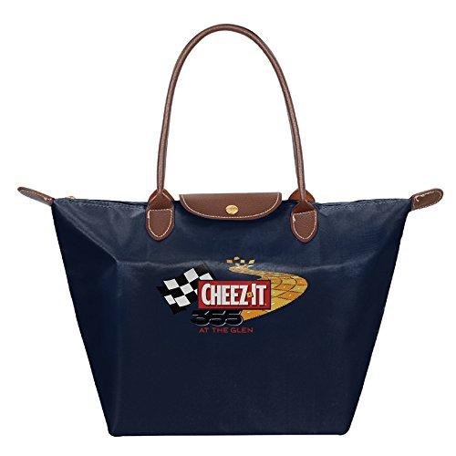 B.G Zone NASCAR CHEEZ-IT Womens Fold Dumplings Package Travel Bags Handbag