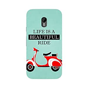 Fusion Gear Motor Cycle Case for Moto G (Gen 3)