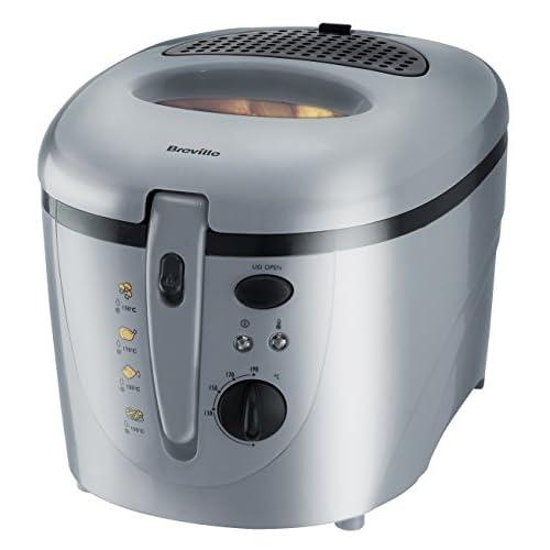 Breville VDF054 Silver Plastic Deep Fryer