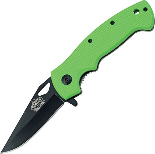 """Master Usa Mu-A003Gn Spring Assisted Knife 4.5"""" Closed"""