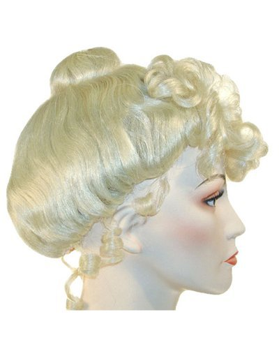 Cinderella Maid Mrs Claus Theater Wig - Blonde