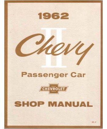 1962 Chevrolet Chevy Ii Shop Service Repair Manual Book