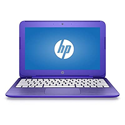 2016 Newest HP Stream 11.6 inch Laptop (Intel Celeron N3050 1.6GHz, 2GB RAM, 32GB Solid State Drive, wifi, HDMI, Windows 10 Home, with Office 365 Personal for One Year) Violet, up to 10 hours battery