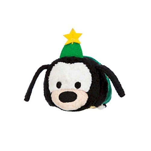 Disney Goofy ''Tsum Tsum'' Plush - Holiday - Mini - 3 1/2'' - 1