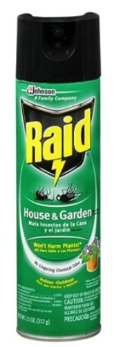 Raid House & Garden Insect Spray 11 Oz (2 Pack) front-1005021