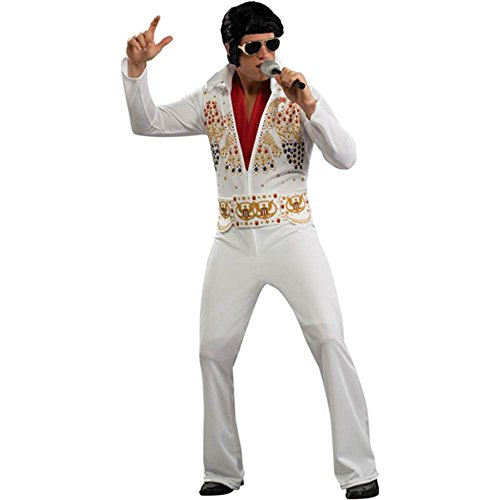 Elvis Presley Jumpsuit Plus Size Costume - X-Large