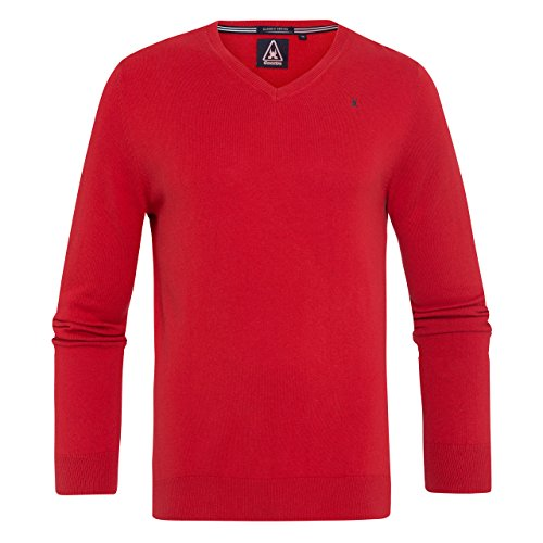 Gaastra Royal Sea V-neck Mn-Felpa Uomo    Red Medium